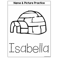 Sample - Name & Picture Practice - Original