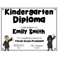 Sample - Editable Diploma Certificate