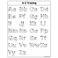 Sample - A-Z Tracing